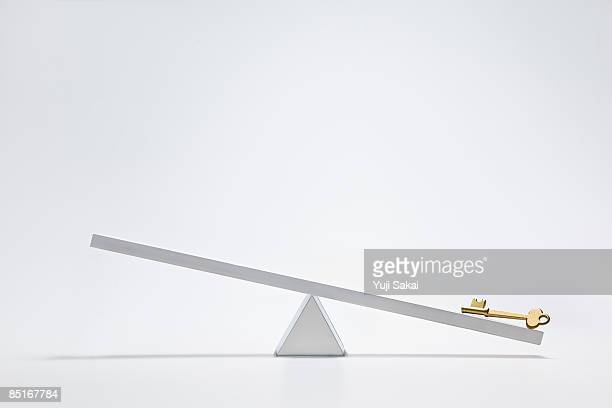 key on the seesaw