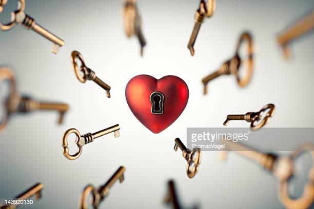 Schlüssel zu Ihrem Herzen