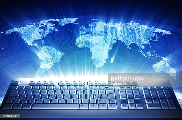 Keyboard Circuit World map