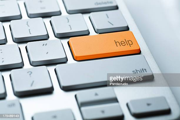 Keyboard close up
