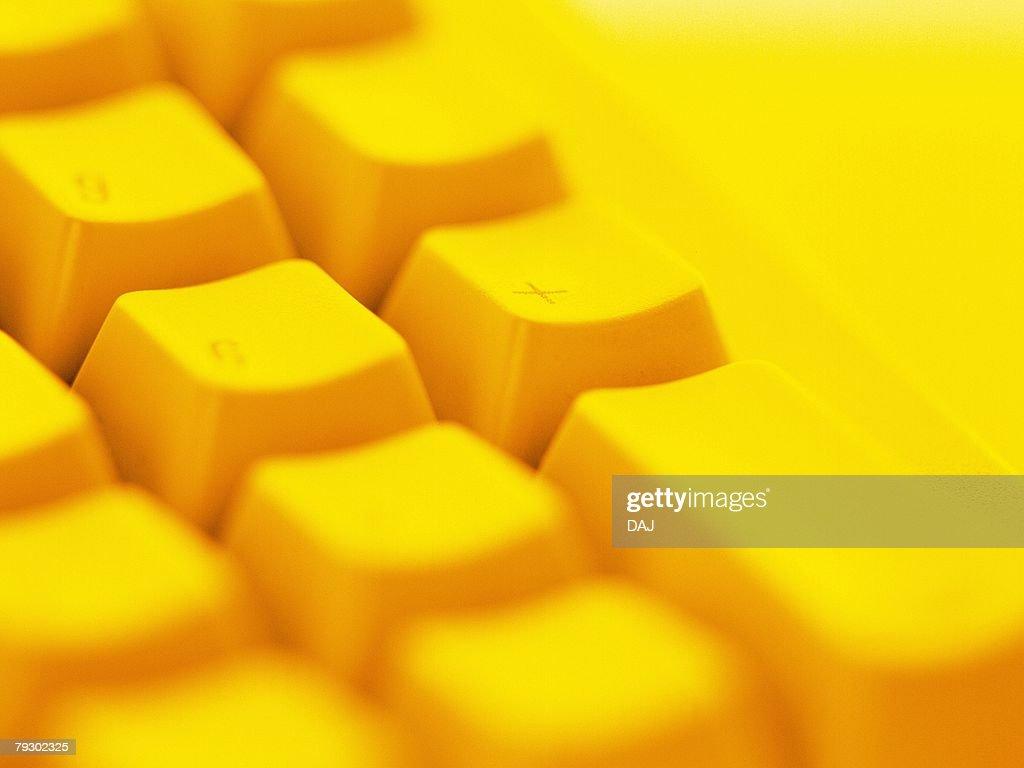 Keyboard, Close Up, Toned Image : Stock Photo