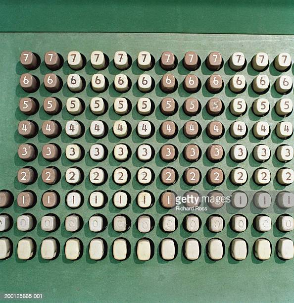 Keyboard of old computer