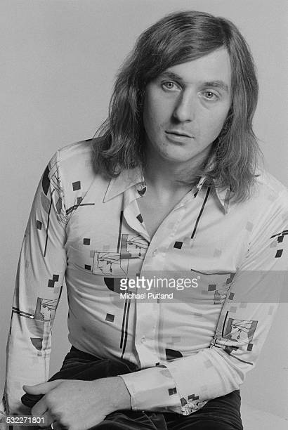 Keyboard player Richard Tandy of British rock group Electric Light Orchestra 5th February 1975