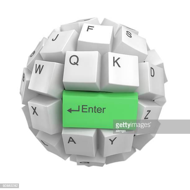Tastatur Kugel