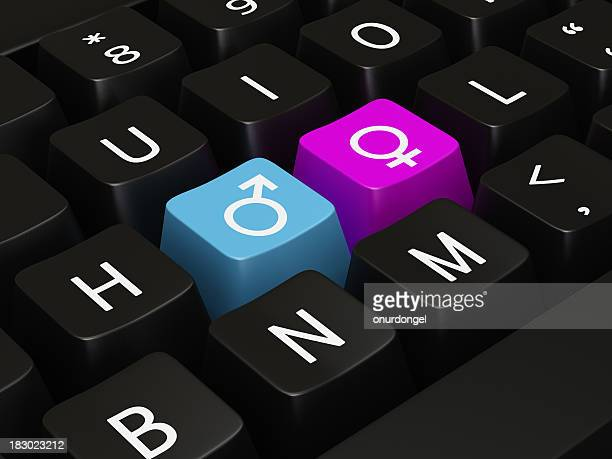 Keyboard with hot keys for Gender Symbol