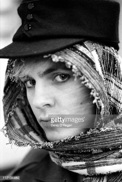 Keyboardist Nick Rhodes of Duran Duran in the USA 1984