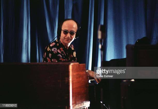 Keyboardistbandleader Paul Shaffer of the 'Late Night with David Letterman' Band