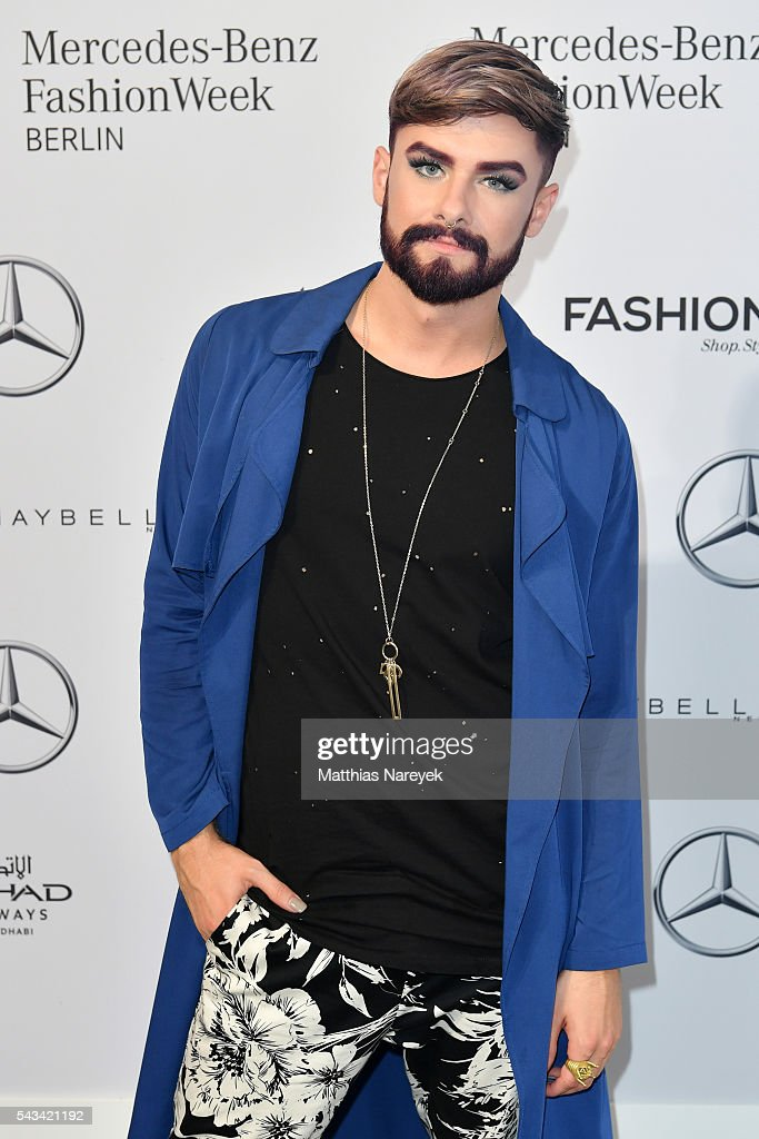 Keye Catcher attends the Odeur show during the Mercedes-Benz Fashion Week Berlin Spring/Summer 2017 at Erika Hess Eisstadion on June 28, 2016 in Berlin, Germany.