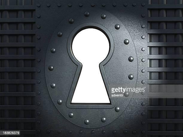 Keyhole-Ausschnitt