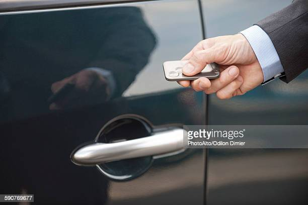 Keyless entry to car