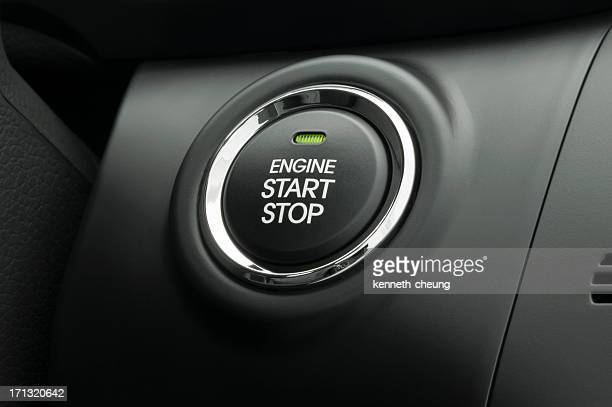 Keyless Smart Key Engine Start Stop Button