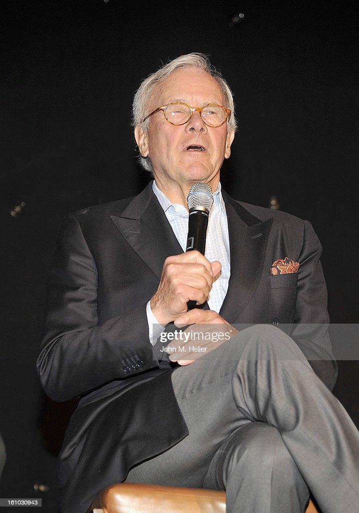 Keynote Speaker/Special Correspondent NBC News Tom Brokaw at the Grammy Foundation's 15th Annual Entertainment Law Initiative Luncheon at the Beverly Hills Hotel on February 8, 2013 in Beverly Hills, California.