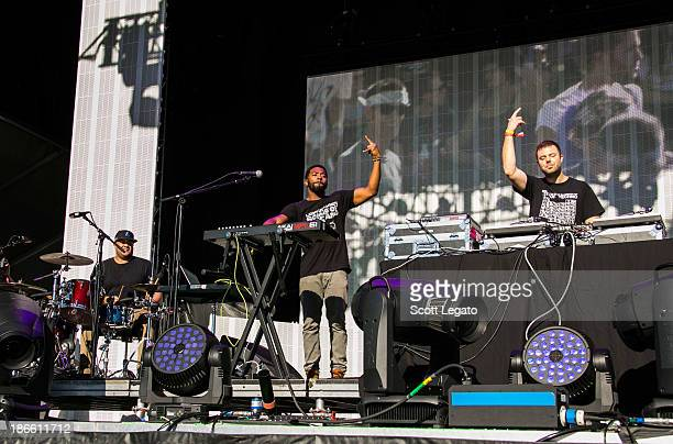 Keys and Krates perform at the 2013 Voodoo Music Arts Experience at City Park on November 1 2013 in New Orleans Louisiana