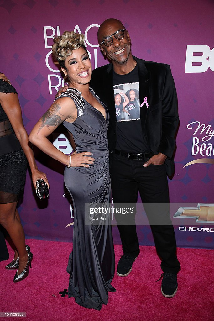 <a gi-track='captionPersonalityLinkClicked' href=/galleries/search?phrase=Keyshia+Cole&family=editorial&specificpeople=563536 ng-click='$event.stopPropagation()'>Keyshia Cole</a> (L) and Stephen G. Hill of BET attend Black Girls Rock! 2012 at the Paradise Theater on October 13, 2012 in the Bronx borough of New York City.