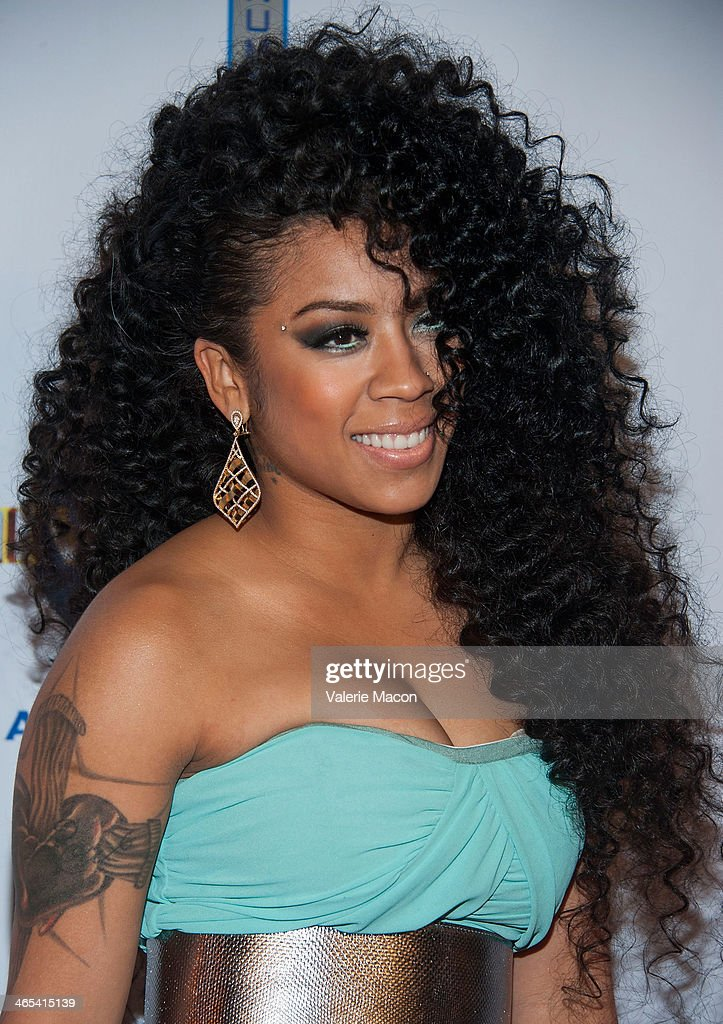 <a gi-track='captionPersonalityLinkClicked' href=/galleries/search?phrase=Keyshia+Cole&family=editorial&specificpeople=563536 ng-click='$event.stopPropagation()'>Keyshia Cole</a> arrives at the Universal Music Group 2014 Post GRAMMY Party at The Ace Hotel Theater on January 26, 2014 in Los Angeles, California.