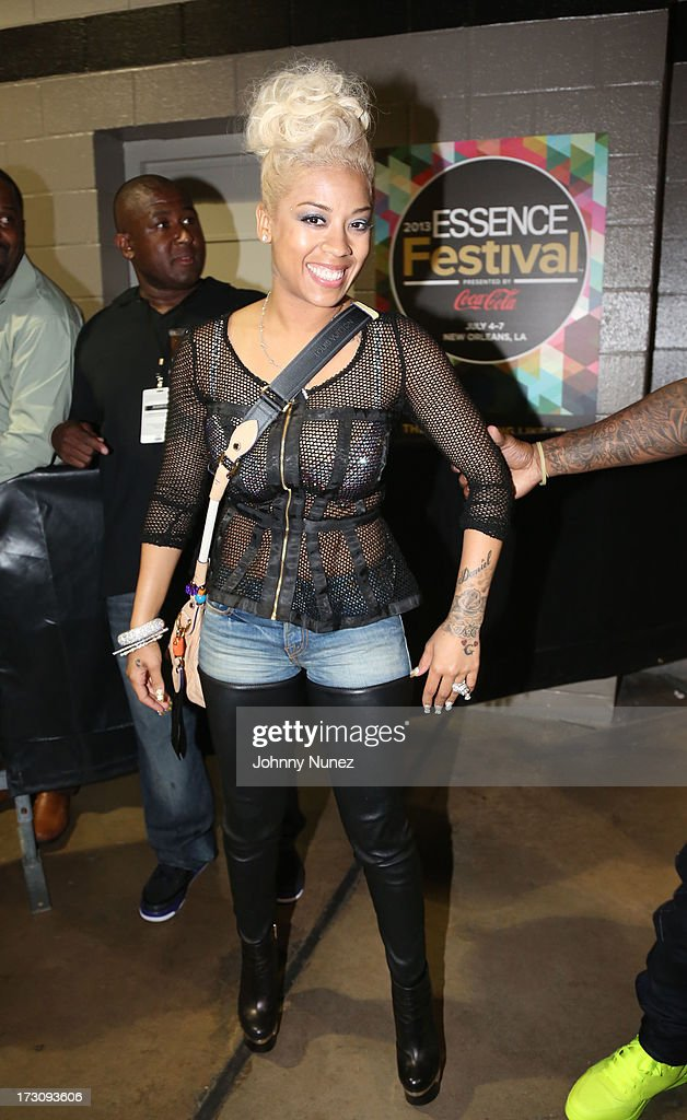 Keyshia Cole attends the 2013 Essence Festival at the Mercedes-Benz Superdome on July 6, 2013 in New Orleans, Louisiana.