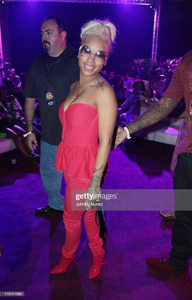 Keyshia Cole attends the 2013 Essence Festival at the Mercedes-Benz Superdome on July 7, 2013 in New Orleans, Louisiana.