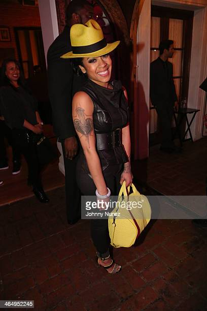 Keyshia Cole attends Vibe Magazine's 2nd Annual PreGRAMMY Impact Awards at The Carondelet House on January 24 2014 in Los Angeles California