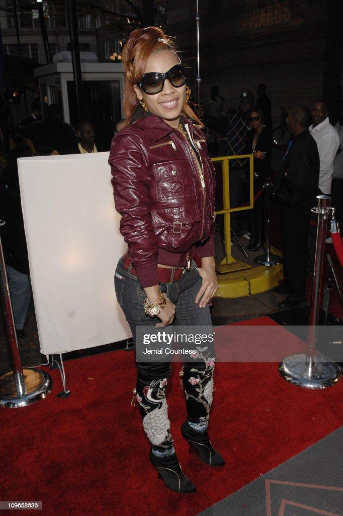 Keyshia Cole during 2006 BET HipHop Awards Black Carpet at Fox Theatre in Atlanta Georgia United States