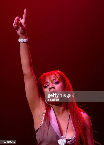 Keyshia Cole during Hot 97's Third Annual Full Frontal Hip Hop Fashion Show at Hammerstein Ballroom in New York NY United States