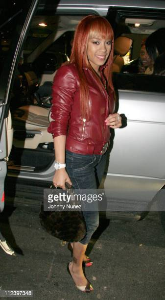 Keyshia Cole during Remy Martin Album Listening Session January 13 2006 at Electric Lady Studio in New York New York United States
