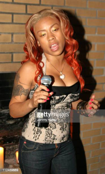 Keyshia Cole during VIBE Vixen VIP Dinner August 10 2005 at Maritime Hotel in New York City New York United States
