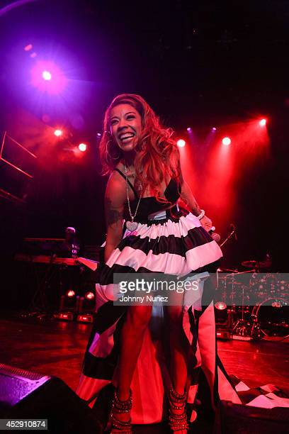 Keyshia Cole performs at Irving Plaza on July 29 2014 in New York City
