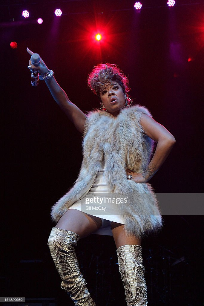 Keyshia Cole performs at Power 99 Powerhouse 2012 at the Wells Fargo Center October 26, 2012 in Philadelphia, Pennsylvania.