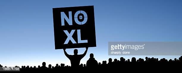 XXXL keystone pipeline Demonstranten