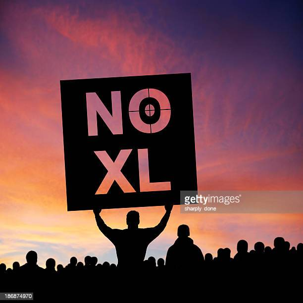 XXXL keystone pipeline Demonstranten