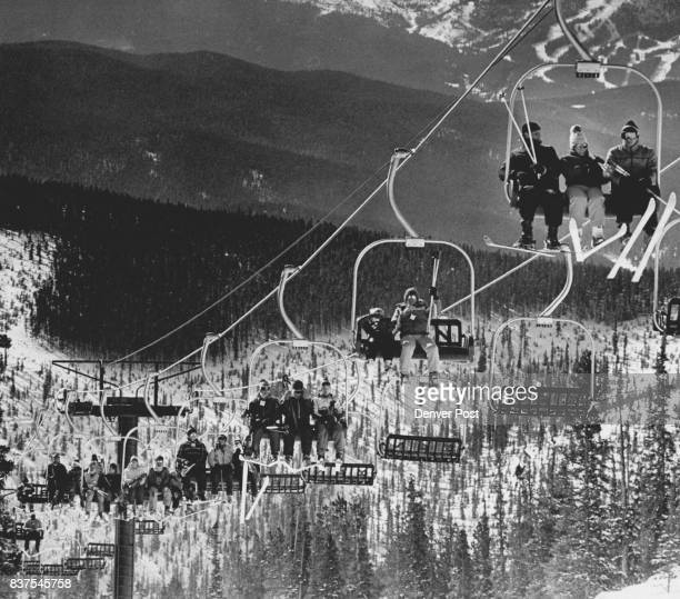 Keystone Ski resort the teller lift was reopened today after being repair their were plenty of skiers to try it out Credit The Denver Post