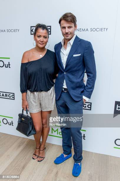 Keytt Lundqvist and Alex Lundqvist attend The Cinema Society and Kargo host the season 3 Premiere Of Bravo's 'Odd Mom Out' at the Whitby Hotel on...