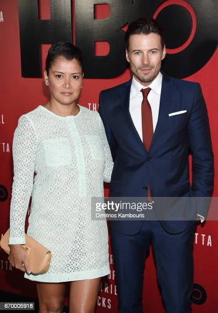 Keytt Lundqvist and Alex Lundqvist attend 'The Immortal Life of Henrietta Lacks' premiere at SVA Theater on April 18 2017 in New York City