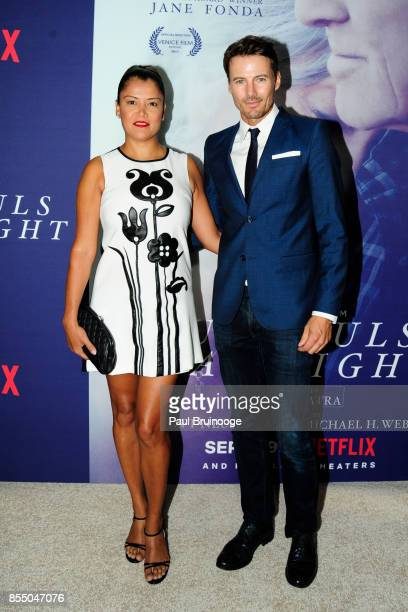 Keytt Lundqvist and Alex Lundqvist attend the New York Premiere of 'Our Souls at Night' at The Museum of Modern Art on September 27 2017 in New York...