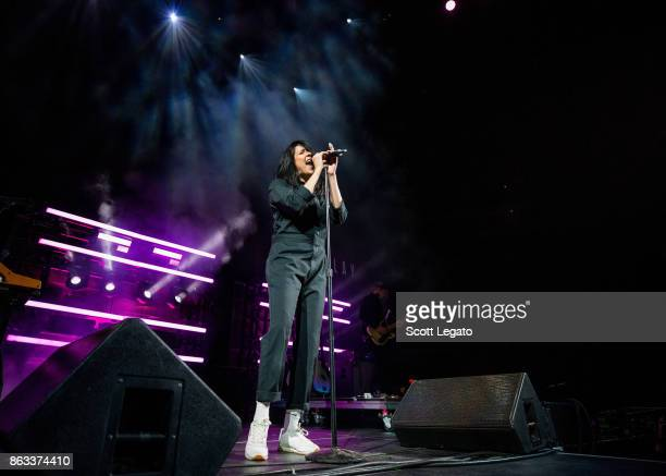 Flay performs at Little Caesars Arena on October 19 2017 in Detroit Michigan