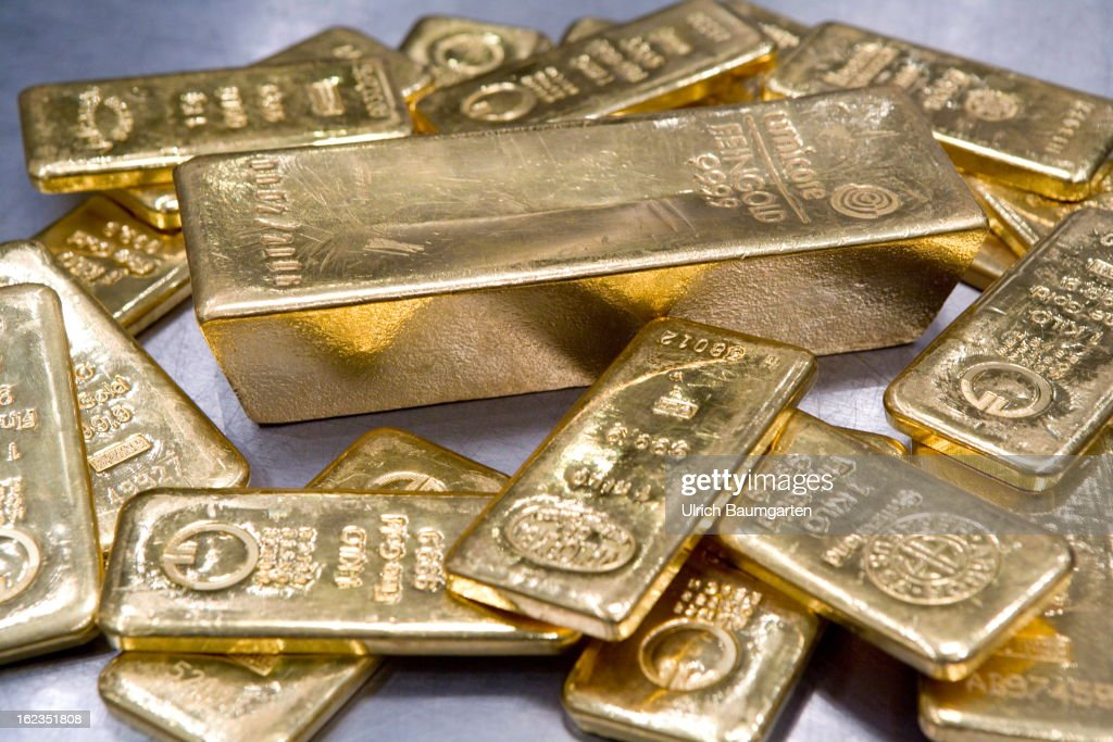 Gold Hits Seven Month Low Getty Images