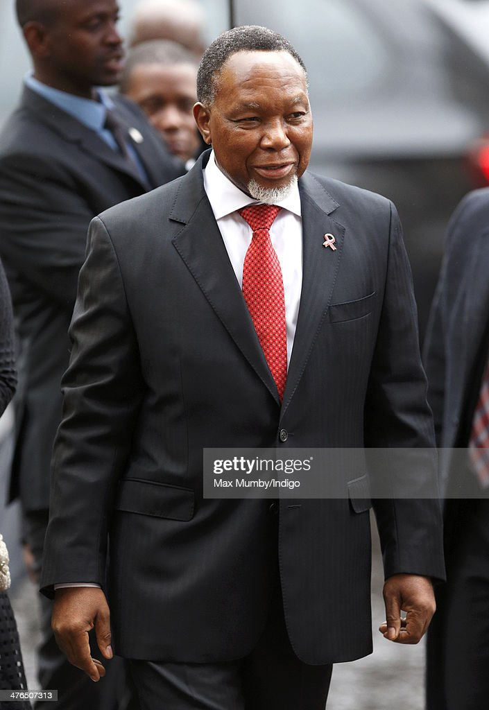Kgalema Motlanthe, Deputy President of South Africa, attends a National Service of Thanksgiving to celebrate the life of Nelson Mandela at Westminster Abbey on March 3, 2014 in London, England.