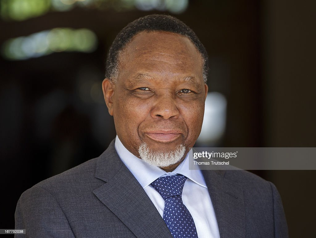 Kgalema Motlanthe, Vice President of South Africa poses for a photograph on April 29, 2013 in Pretoria, South Africa.