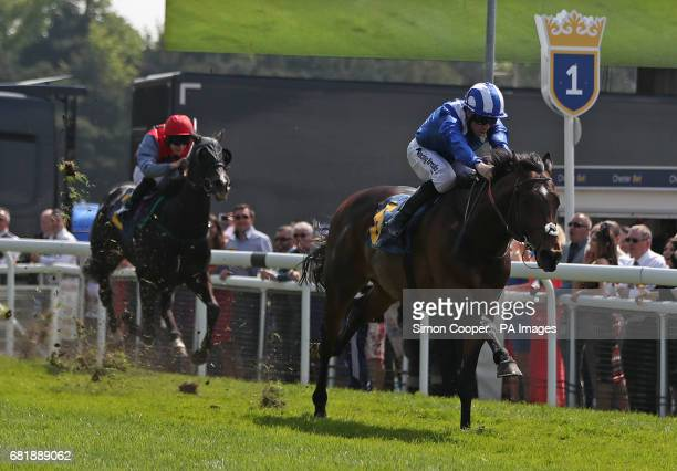 Khairaat ridden by Jim Crowley wins the Gateley PLC Changing The Legal Landscape Handicap during day two of the Chester May Festival