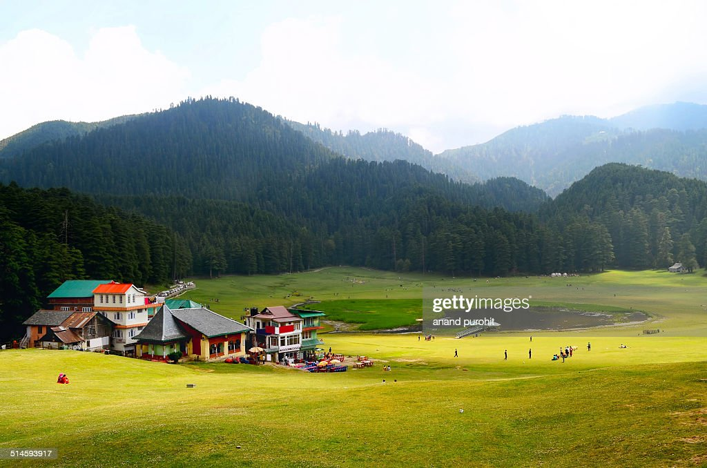 Khajjiar India  city pictures gallery : Khajjiar Mini Swiss Dalhousie India Stock Photo | Getty Images