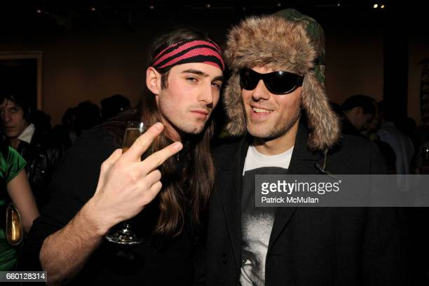 Khale Unger and Dj Gant Johnson attend ROGER PADILHA MAURICIO PADILHA Celebrate Their Rizzoli Publication THE STEPHEN SPROUSE BOOK Hosted by DEBBIE...