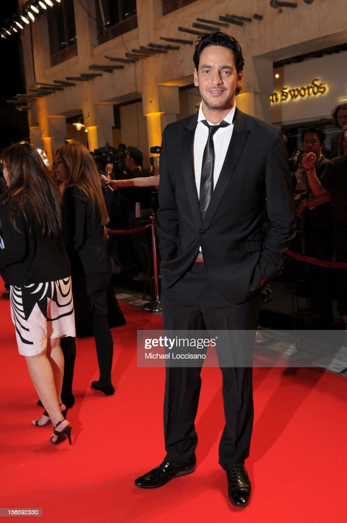 Khaled Abol Naga attends the opening night ceremony and gala screening of 'The Reluctant Fundamentalist' during the 2012 Doha Tribeca Film Festival at Al Mirqab Hotel on November 17, 2012 in Doha, Qatar.