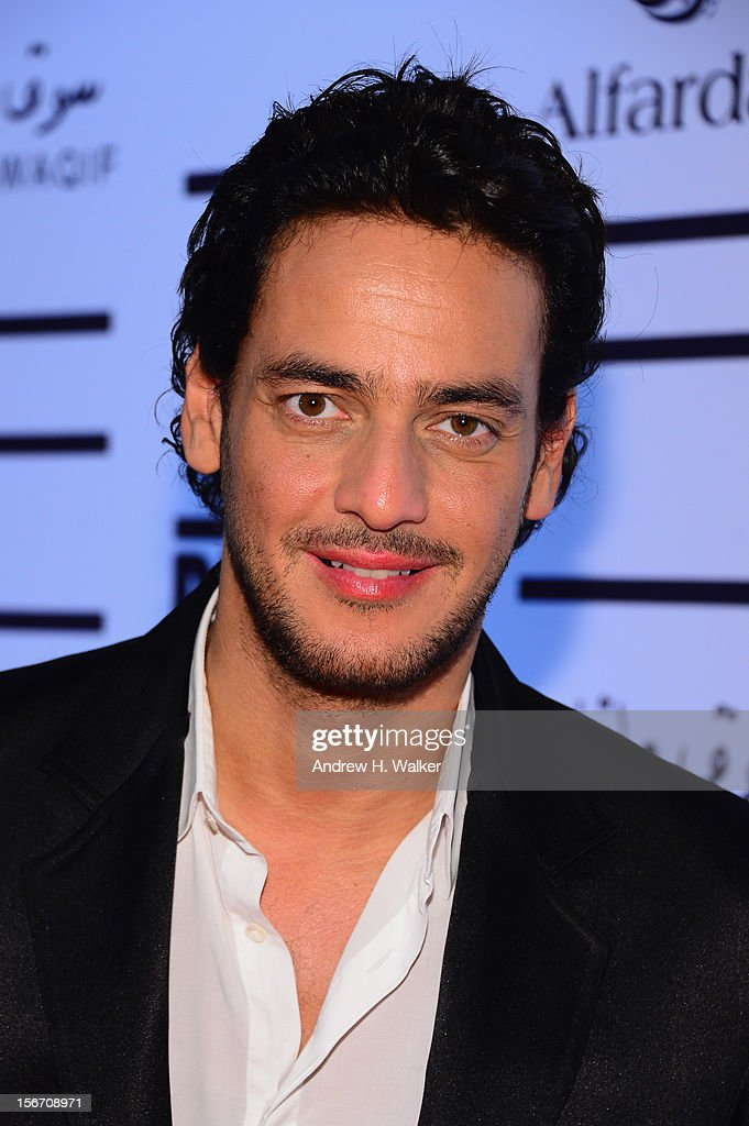 Khaled Abol Naga attends the 'Silver Linings Playbook' premiere at the Al Mirqab Hotel during the 2012 Doha Tribeca Film Festival on November 19, 2012 in Doha, Qatar.
