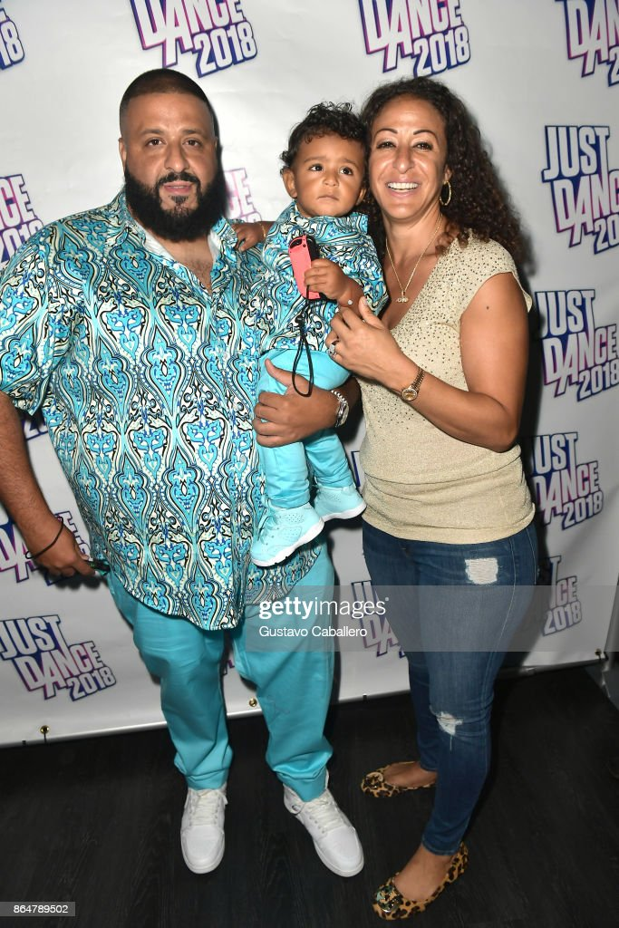Asahd Khaled Celebrates 1st Birthday With Just Dance 2018