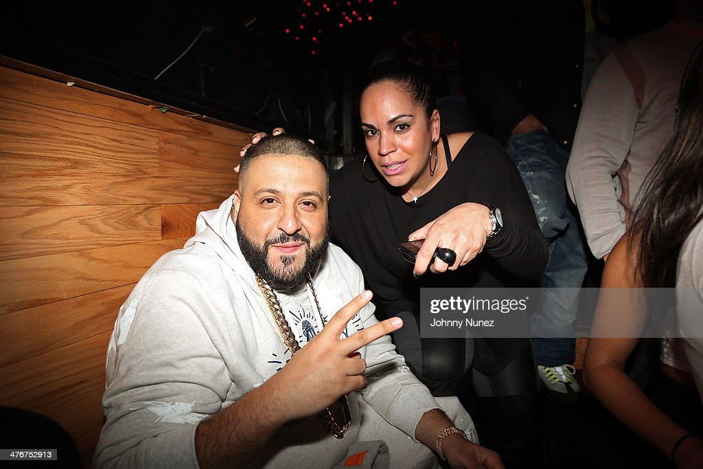 <a gi-track='captionPersonalityLinkClicked' href=/galleries/search?phrase=DJ+Khaled&family=editorial&specificpeople=577862 ng-click='$event.stopPropagation()'>DJ Khaled</a> and music executive Marleny Dominguez attend the 'Mastermind' Album Release Party at Greenhouse on March 4, 2014 in New York City.