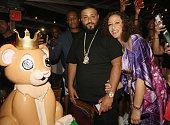 Khaled and Nicole Khaled attend Haute Living Celebrates DJ Khaled And Nicole Khaled Presented By JetSmarter on June 6 2016 in New York City