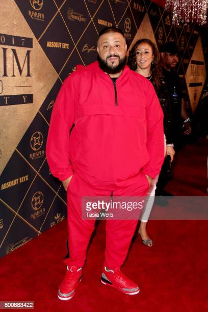 Khaled and Nicole Tuck attend the 2017 MAXIM Hot 100 Party at Hollywood Palladium on June 24 2017 in Los Angeles California