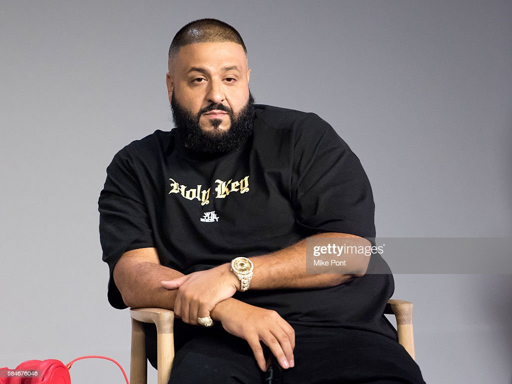 Khaled appears at Apple Store Soho on July 29 2016 in New York City