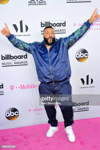 Khaled arrives at 2017 Billboard Music Awards at TMobile Arena on May 21 2017 in Las Vegas Nevada