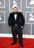 Khaled arrives at the 55th Annual GRAMMY Awards at Staples Center on February 10 2013 in Los Angeles California